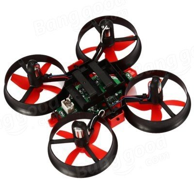 Eachine E010 Mini quadcopter with ducted propellers