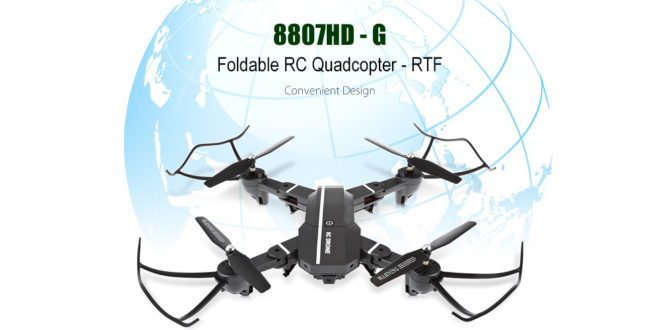 8807HD - G new folding drone with WiFi FPV and altitude hold